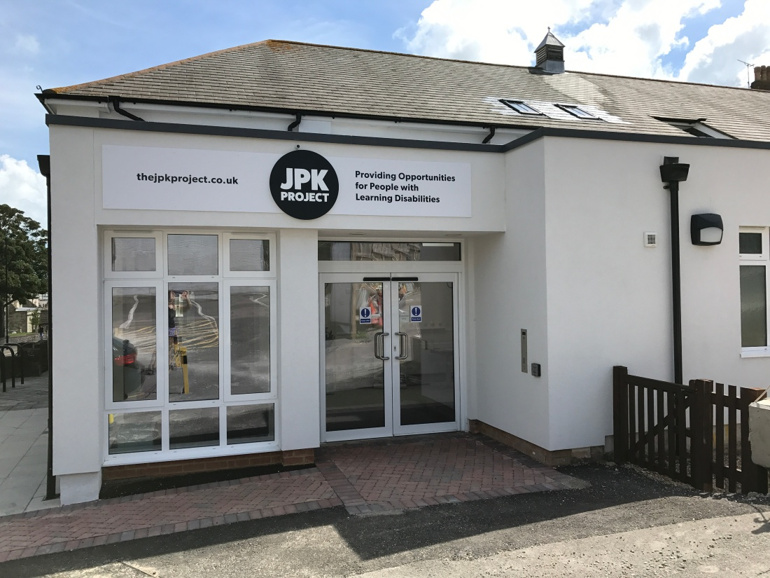 New JPK Centre Sign