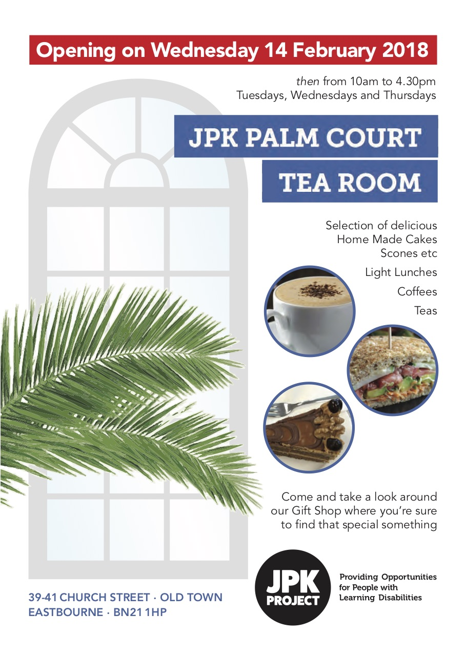 JPK Tea Room Opening February 2018