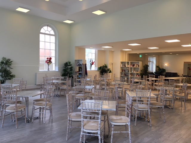 Spacious JPK Palm Court Tea Room in Eastbourne