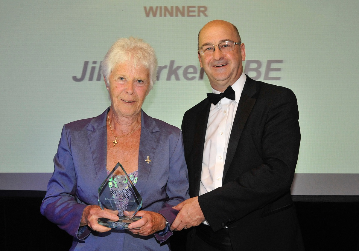 Lifetime Achievement Award Jill Parker, MBE