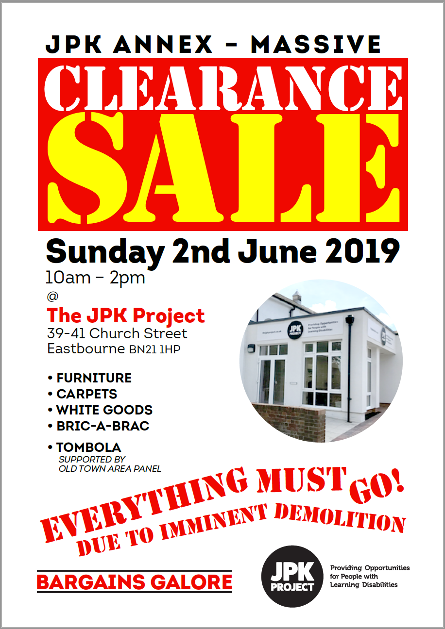 The JPK Sale 2.6.19