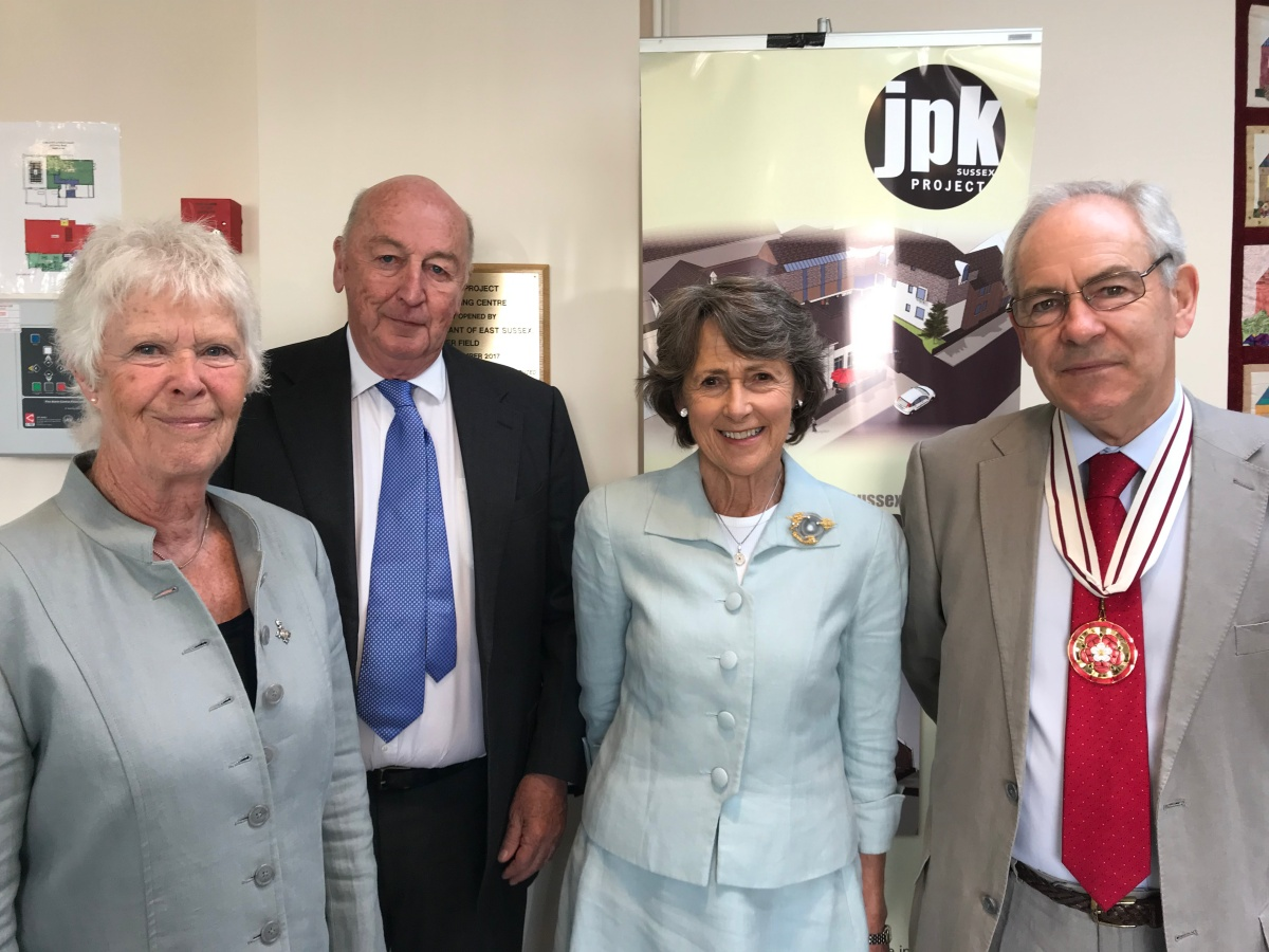 Duke & Duchess of Devonshire Visit the JPK Project May 2019